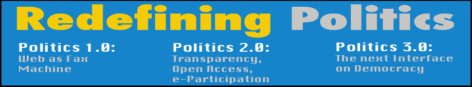 politics + internets = ? header image 1